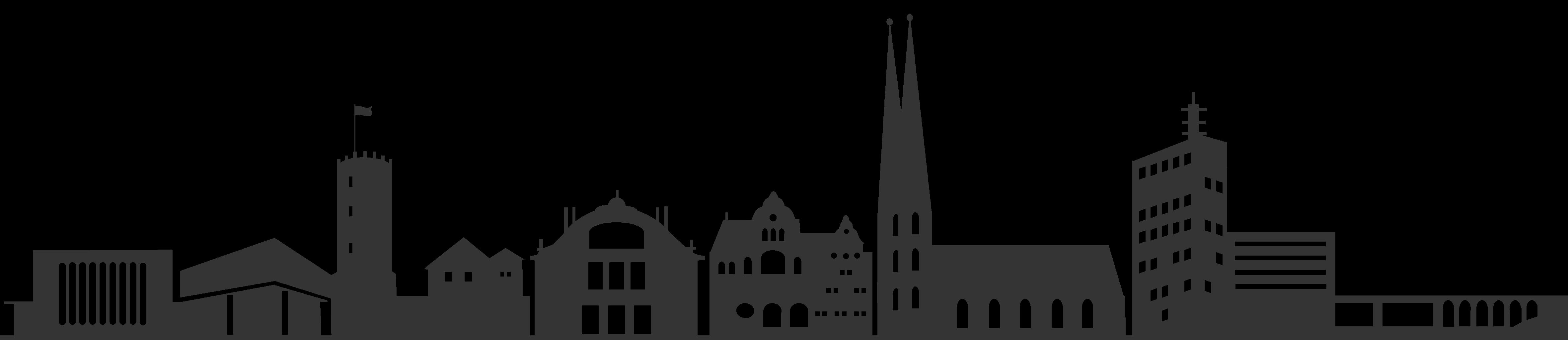 skyline von Bielefeld