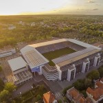 Fussballstadion - Schüco Arena - Alm - Armina Bielefeld
