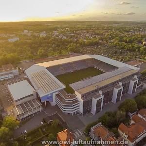 Schüco-Arena - Fußballstadion von Arminia Bielefeld