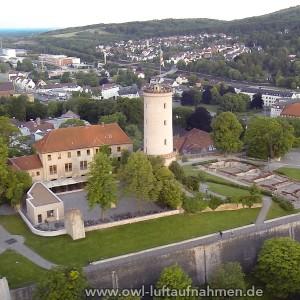 Sparrenburg / Bielefeld 4 - Sicht auf den Innenhof