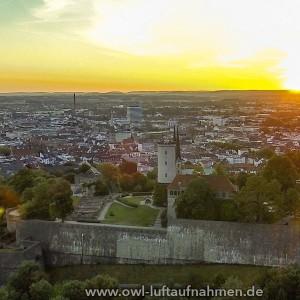 Sparrenburg / Bielefeld 1 - Sonnenaufgang