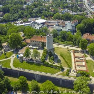 Sparrenburg / Bielefeld 2 - Sicht Richtung Bethel