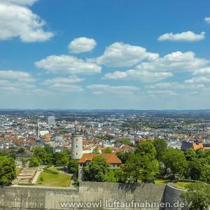 Sparrenburg / Bielefeld 3 - Sicht Richtung Stadt
