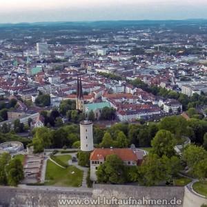 Sparrenburg / Bielefeld 6 - Sicht Richtung Stadt
