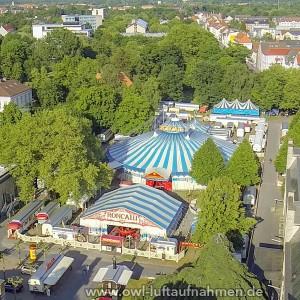 Zirkus in Bielefeld / Ravensberger-Park